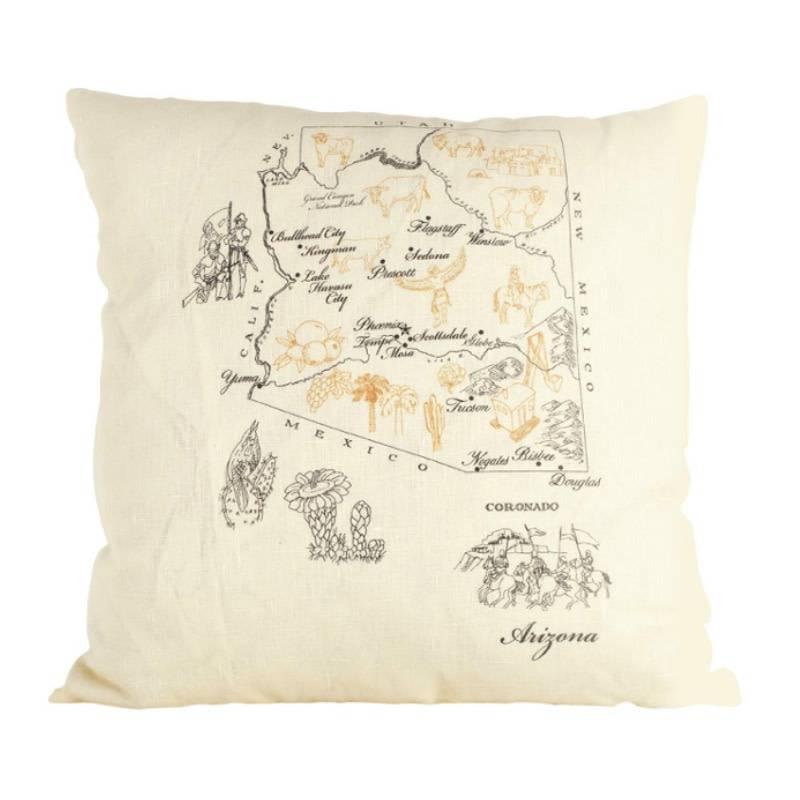 ox bow decor Oxbow Decor Arizona Pillow