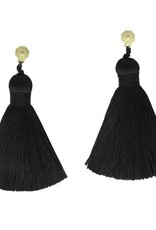 HART Black Classics Tassel Earrings