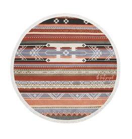 Bedouin Round Towel
