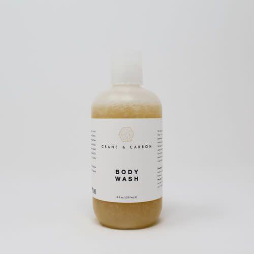 crane & carbon Body Wash - Rose Quartz
