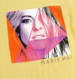 T-Shirt pour enfant - fille (jaune) Marie-Mai