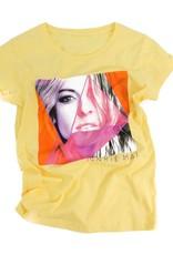 T-Shirt pour adulte - femme (jaune) Marie-Mai