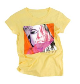 Marie-Mai T-Shirt pour adulte - femme (jaune) Marie-Mai