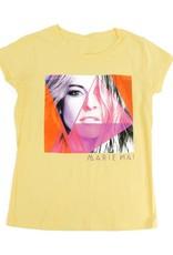 Marie-Mai T-Shirt pour enfant - fille (jaune) Marie-Mai