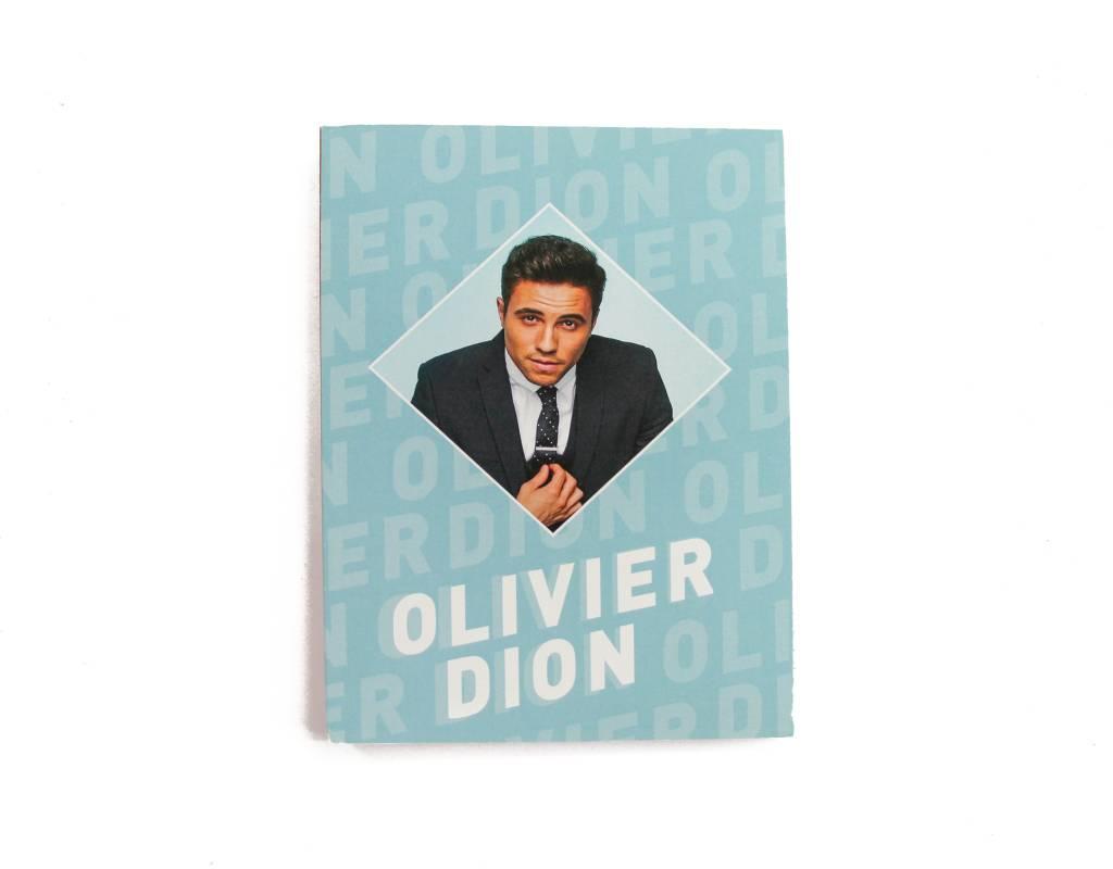 Olivier Dion Cahier de notes Olivier Dion