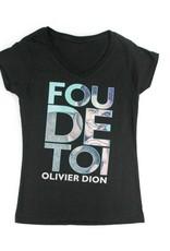 Olivier Dion T-Shirt femme pour adulte Olivier Dion