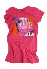 T-Shirt pour adulte - femme (fushia) Marie-Mai