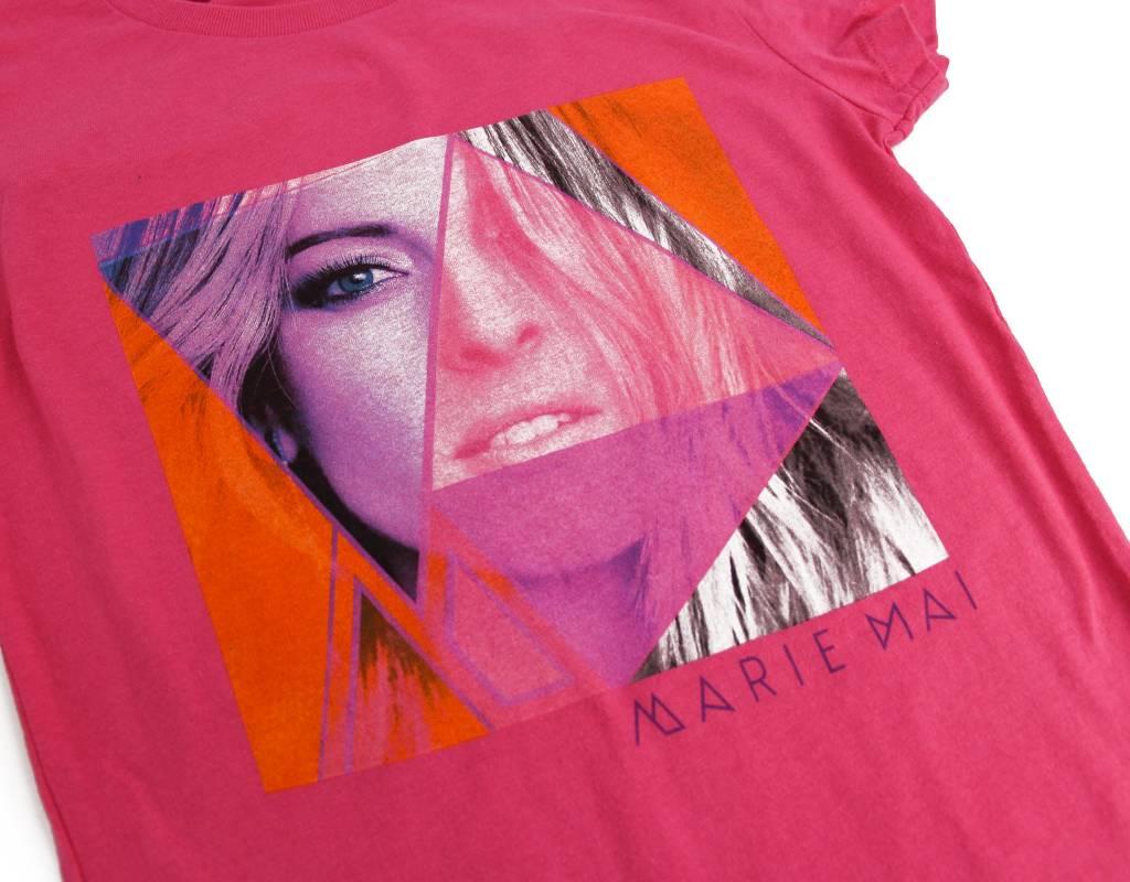 Marie-Mai T-Shirt pour adulte - femme (fushia) Marie-Mai
