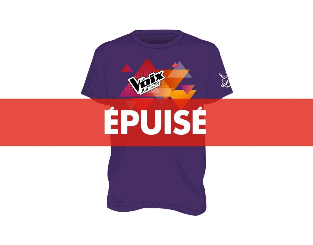 T-Shirt pour enfant (mauve) La Voix Junior