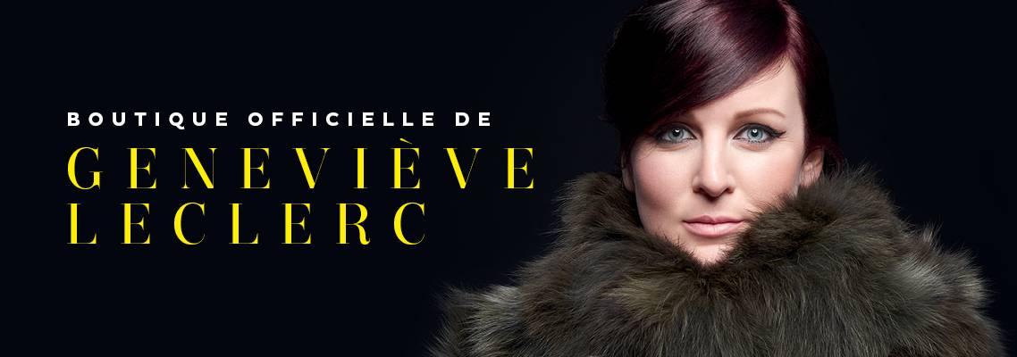 Bienvenue sur la boutique officielle de Geneviève Leclerc