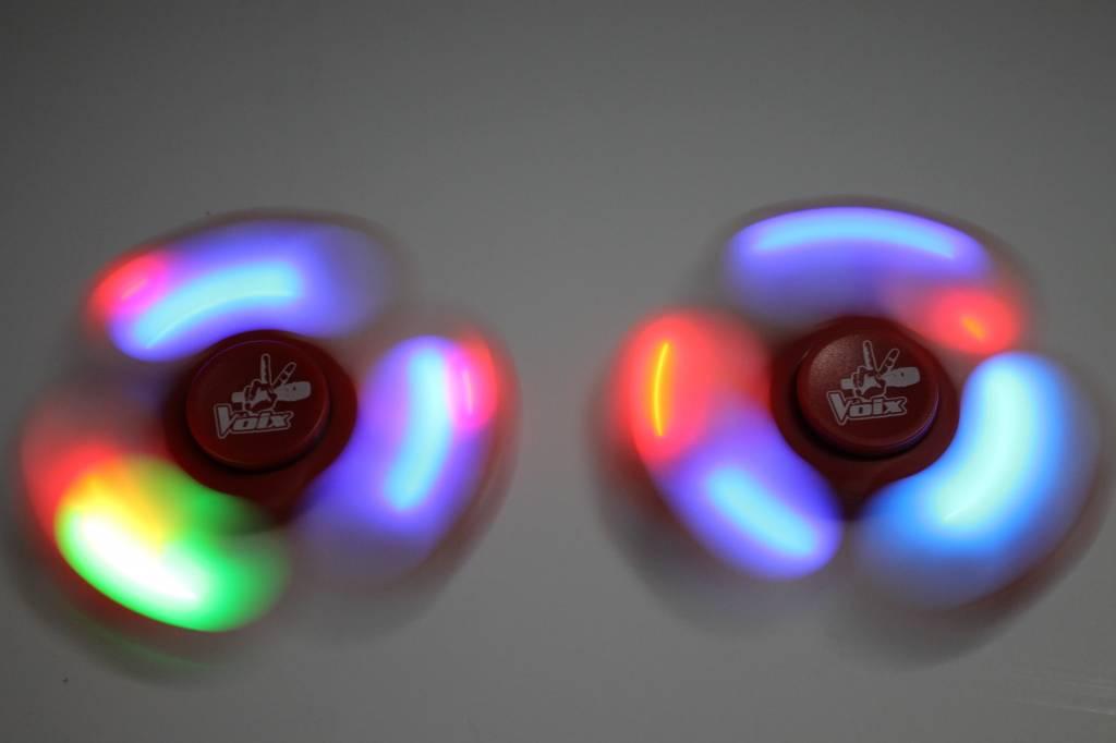 Fidget Spinner Lumineux La Voix