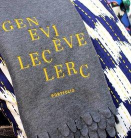 Geneviève Leclerc Couverture Brodée Geneviève Leclerc