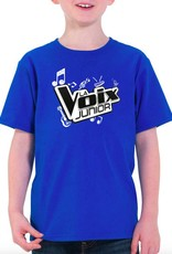 T-shirt enfant La Voix Junior bleu royale