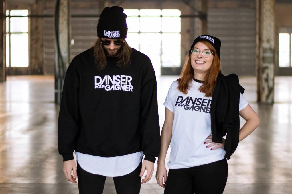 Danser pour Gagner T-Shirt Blanc Danser pour Gagner