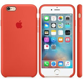 Apple Apple Silicone Case for iPhone 6s Plus - Orange ALL SALES FINAL - NO RETURNS OR EXCHANGES