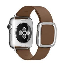 Apple Apple Watch Band 38mm Brown Modern Buckle - Medium 145mm-165mm (ATO)