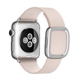 "Apple Apple Watch Band 38mm Soft Pink Modern Buckle - Medium 145mm-165mm 5.7""-6.5"" (WSL)"