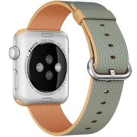 Apple Apple Watch Band 42mm Gold/Royal Blue Woven Nylon 145-215mm (WSL)