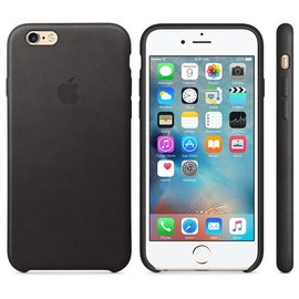 Apple Apple Leather Case for iPhone 6s - Black (ATO)