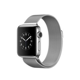Apple Apple Watch Series 2, 38mm Stainless Steel Case with Silver Milanese Loop 130-180mm (ATO)