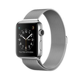 Apple Apple Watch Series 2, 42mm Stainless Steel Case with Silver Milanese Loop 150-200mm (ATO)
