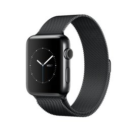 Apple Apple Watch Series 2, 42mm Space Black Stainless Steel Case with Space Black Milanese Loop 150-200mm (ATO)