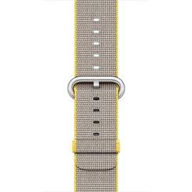 Apple Apple Watch Band 38mm Yellow/Light Gray Woven 125-195mm (ATO)