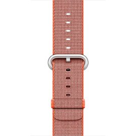 Apple Apple Watch Band 42mm Space Orange/Anthracite Woven Nylon 145-215mm (ATO)