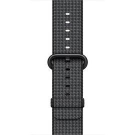 Apple Apple Watch Band 42mm Black Woven Nylon 145-215mm (ATO)