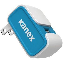 Kanex Kanex 1-Port USB Wall Charger 2.4A - Blue