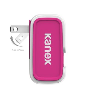 Kanex Kanex 1-Port USB Wall Charger 2.4A - Pink (WSL)