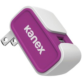 Kanex Kanex 1-Port USB Wall Charger 2.4A - Purple