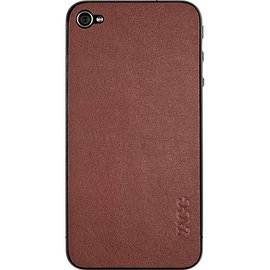 ZAGG ZAGG Leather Plain Case for iPhone 4/4S - Brown (WSL)