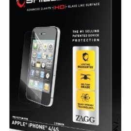 ZAGG ZAGG InvisibleShield Screen Protector HD for iPhone 4/4S (WSL)