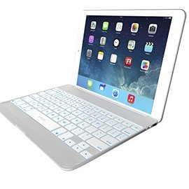 ZAGG ZAGG ZAGGkeys Cover Silver w/Backlit Keyboard for iPad Air ALL SALES FINAL - NO RETURNS OR EXCHANGES
