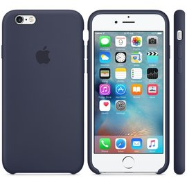 Apple Apple Silicone Case for iPhone 6s - Midnight Blue (ATO)