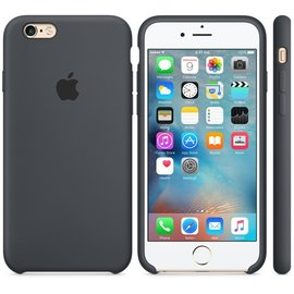 Apple Apple Silicone Case for iPhone 6s - Charcoal Grey (ATO)