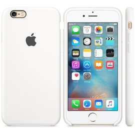 Apple Apple Silicone Case for iPhone 6s - White (ATO)