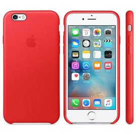 Apple Apple Leather Case for iPhone 6s - Red (ATO)