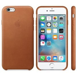 Apple Apple Leather Case for iPhone 6s - Saddle Brown (ATO)