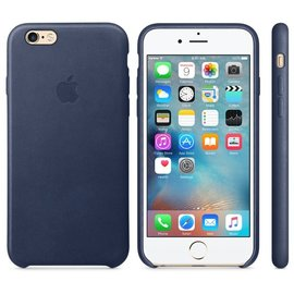 Apple Apple Leather Case for iPhone 6s - Midnight Blue (ATO)