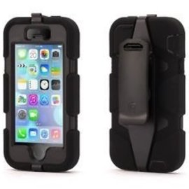 Griffin Griffin Survivor All-Terrain Case for iPhone 5s/5 Black/Black