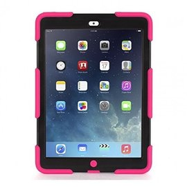 Griffin Griffin Survivor All-Terrain Case for iPad Air - Pink/Black ALL SALES FINAL - NO RETURNS OR EXCHANGES