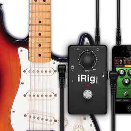 IK Multimedia IK Multimedia iRig Stomp pedal-style guitar adapter for iOS devices