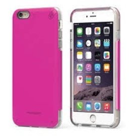 Pure Gear Pure Gear Dual Tek Pro Case for iPhone 7 Plus Pink/Clear