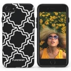 Pure Gear Pure Gear Motif Series Case for iPhone 7 Black/White Chain