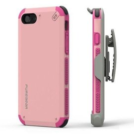 Pure Gear Pure Gear Dual Tek Hip Case for iPhone 7 Pink