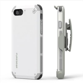Pure Gear Pure Gear Dual Tek Hip Case for iPhone 7 White