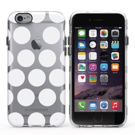 Pure Gear Pure Gear Motif Series Case for iPhone 6s/6 White Dots