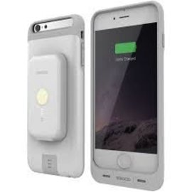 Stacked Stacked Battery Case Bundle iPhone 6s/6 Plus Silver/White - 2000 mAh ALL SALES FINAL - NO REFUNDS OR EXCHANGES